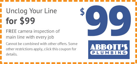 clogged drain coupon
